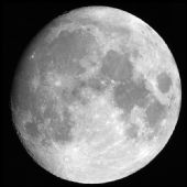 וירח לא יגיה אורו