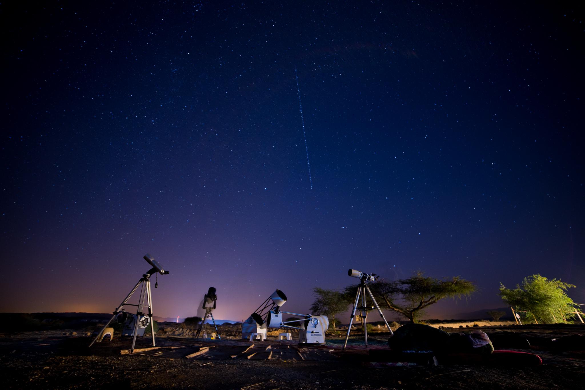 סוללת טלסקופים